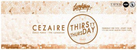 Bannière Thirsthy Thursday