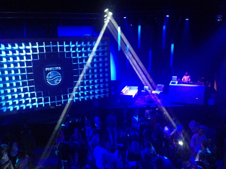 Ambilight party agoria wemusicmusic