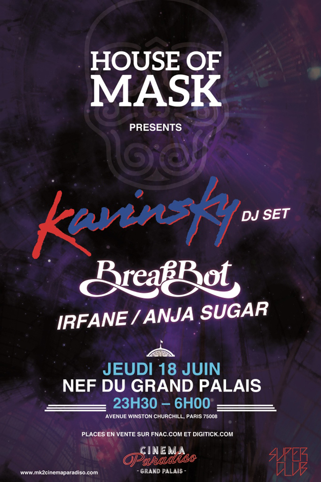 House Of Mask kavinsky breakbot cinema paradiso