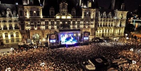 Hôtel de Ville. Paris.