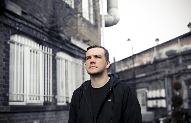 Photo shoot with Perc, techno Dj based in London, 23 October 2014, London