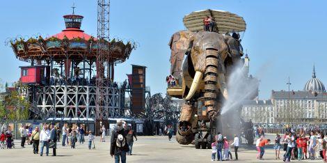 Grand Elephant. Les Machines de l'ile. Nantes © Jean-Dominique Billaud / LVAN